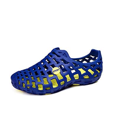 Muškarci EVA Ljeto Udobne cipele Sandale Svjetlo siva / Crno / crvena / Navy Plava