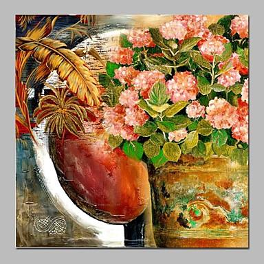 Hang-Malowane obraz olejny Ręcznie malowane - Martwa natura Zabytkowe Brezentowy / Rozciągnięte płótno