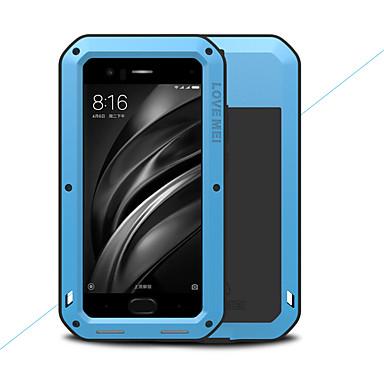 מגן עבור Xiaomi Mi 6 מוגן מים / עפר / הלם כיסוי מלא אחיד קשיח מתכת ל Xiaomi Mi 6