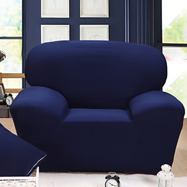 עכשווי 100% פוליאסטר ג'אקארד כיסוי ספה דו מושבית, פשוט אחיד הדפסת פיגמנטים כיסויים