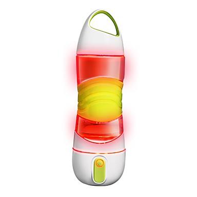 זוהר בחשיכה נגד החלקה BPA חינם תאורת חירום סיליקון PP+ABS בחוץ ל אופנייים נסיעות ריצה ירוק ורוד אפור