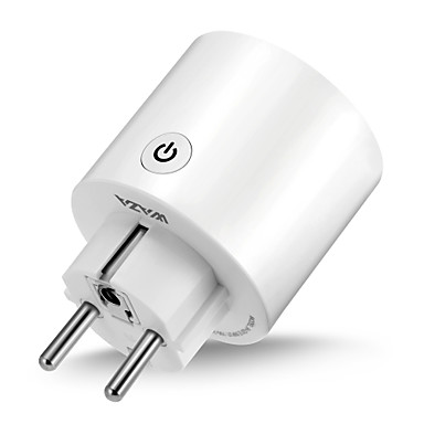 رخيصةأون المنزل الذكي-waza smart plug (eu) mini outlet متوافق مع amazon alexa و google assistant، wifi enabled remote control socket with timer function، no hub required