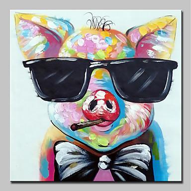 Cooperativa Hang-dipinto Ad Olio Dipinta A Mano - Pop Art Modern Include Interno Della Montatura - Tela Allungata #06652095 Pacchetto Elegante E Robusto