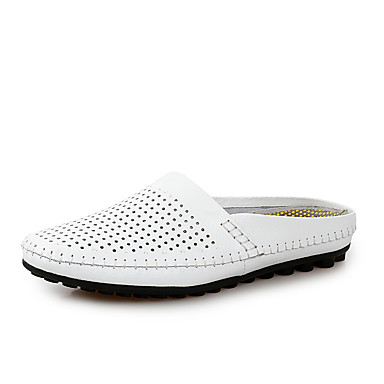 Herrn Schuhe PU Herbst / Winter Komfort Loafers & Slip-Ons Walking Schwarz / Gelb / Blau