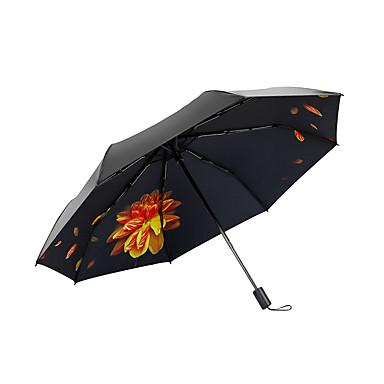 boy® Tkanina Damskie / Wszystko Słoneczne i deszczowe / Ochrona przed wiatrem / Nowe Parasolka Składana