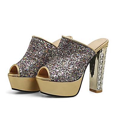 Chaussures Basique Femme Bottier Polyuréthane 06641811 Or Eté Confort Sandales Talon Escarpin drP6aqUP