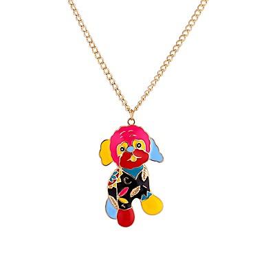 billige Mote Halskjede-Herre Anheng Halskjede Hunder Rock Gotisk Akryl Regnbue 65 cm Halskjeder Smykker Til Skoleball Bar
