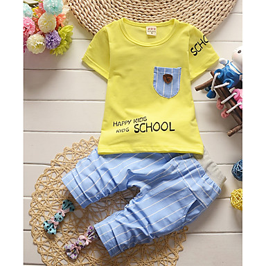 f3029f40a cheap Boys' Clothing-Toddler Boys' Basic Solid Colored Short