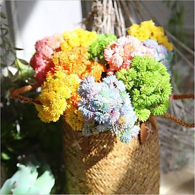 Sztuczne Kwiaty 1 Gałąź Zwyczajny / Styl pasterski Sukulenty Bukiety na stół