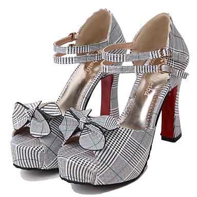 Bobine ouvert Bout Printemps Femme Jaune Talon Eté 06640469 Chaussures Similicuir Sandales Confort Vert g8Txx1zqw0
