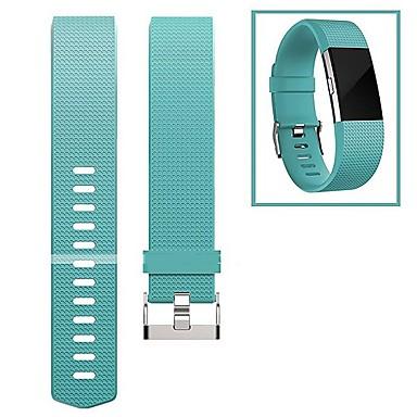 Klokkerem til Fitbit Charge 2 Fitbit Moderne spenne Fluoroelastomer Håndleddsrem