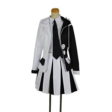 קיבל השראה מ Danganronpa Monokuma אנימה תחפושות קוספליי חליפות קוספליי אחר שרוול ארוך מעיל / חולצה / חצאית עבור יוניסקס