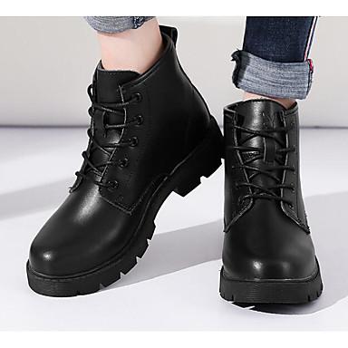 Automne Femme Noir Confort Bottine 06620722 Talon Botillons Hiver Chaussures Cuir Botte Demi Bottes Bottier Vin Blanc qqOw1Erz