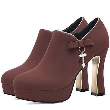 Bottier Vin Bout Noir Chaussures Basique Chaussures à Gladiateur Femme Automne Hiver Escarpin Fourrure Talon pointu Talons 06648276 6Wfgw6Pq7Z