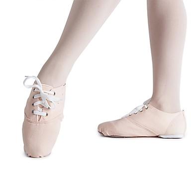 Femme Chaussures de Jazz Basket Toile Basket Jazz Talon Plat Personnalisables Chaussures de danse Amande / Intérieur / EntraîneHommes t 63cf33
