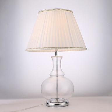 Metaliczne / Nowoczesny Kryształ / Dekoracyjna Lampa stołowa Na Metal 220-240V