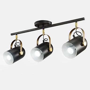QIHengZhaoMing 3 światła Oświetlenie punktpowe Światło rozproszone Malowane wykończenia Metal 110-120V / 220-240V Ciepła biel / Chłodna biel Zawiera żarówkę