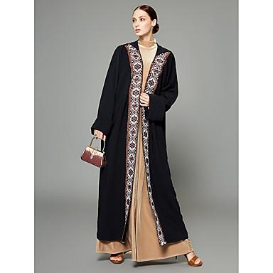 Abaya Damskie Wyrafinowany styl / Moda miejska Jendolity kolor / Wielokolorowa Poliester
