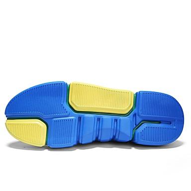 Talon et Bleu Tulle Nouveauté Blanc rond Vert 06701711 Eté Femme Bout Confort Plat Basket Chaussures np7gUqYw
