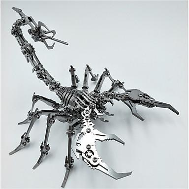 voordelige 3D-puzzels-3D-puzzels Schorpioen Dieren Creatief Cool Roestvast staal Volwassenen Tiener Speeltjes Geschenk