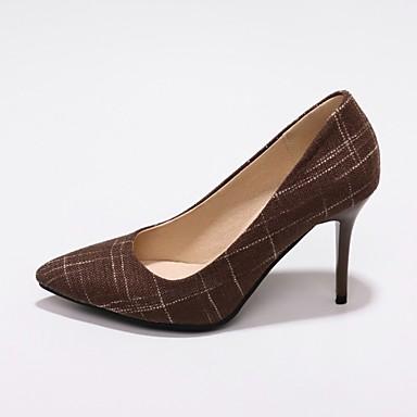 Marron minuit Arrière Noir Tissu Aiguille Chaussures été Bleu Bride de Talon à Talons Femme 06681873 Printemps Chaussures A FZaqRw4Y