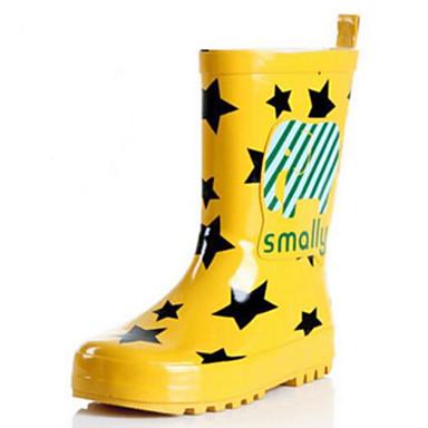Dla dziewczynek Obuwie Guma Wiosna lato Gumowce Buciki na Yellow / Czerwony / Niebieski