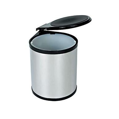 Kuchnia Środki czystości Stal nierdzewna Kosz na śmieci Prosty 1szt