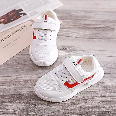 Băieți Pantofi PU Vară Confortabili Adidași pentru Negru / Gri / Rosu