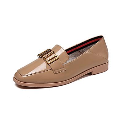 Automne 06665368 Amande Chaussures Noir Cuir Verni Printemps Talon r8qaw8fxpg