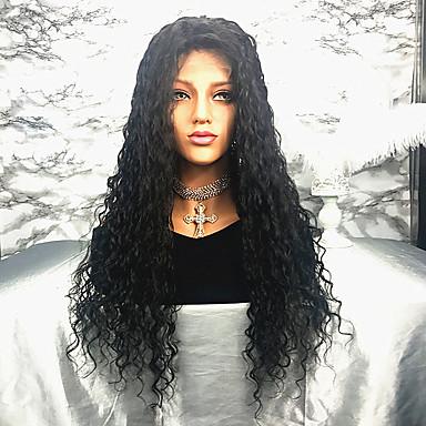 Włosy remy Peruka Włosy brazylijskie Kędzierzawy 150% Gęstość 100% Dziewica Długo Damskie Peruki z włosów ludzkich