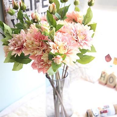 Sztuczne Kwiaty 1 Gałąź Rustykalny / Kwiaty ślubne Wieczne Kwiaty Bukiety na stół