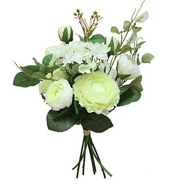 Sztuczne Kwiaty 9 Gałąź Impreza / minimalistyczny styl Lotus / Wieczne kwiaty Bukiety na stół