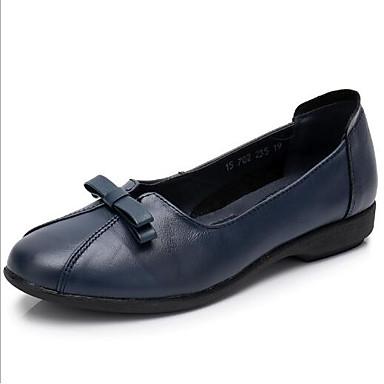 Noir Femme Cuir Talon Plat Chaussons D6148 Rouge Chaussures Confort 06669175 Bleu et Eté Mocassins Sqf4wCxSv