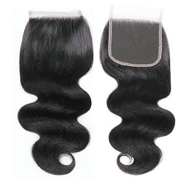billige Parykker af ægte menneskerhår-1 Bundle Brasiliansk hår Krop Bølge 100% Remy Hair Weave Bundles Menneskehår, Bølget Hårforlængelse af menneskehår 8-20inch Naturlig Farve Menneskehår Vævninger Nyfødt Vandfald Nuttet Menneskehår