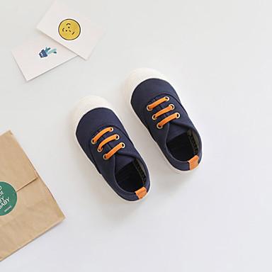 Fete Pantofi Pânză Primavara vara Confortabili / Tălpi cu Lumini Adidași pentru Albastru Închis / Rosu / Roz