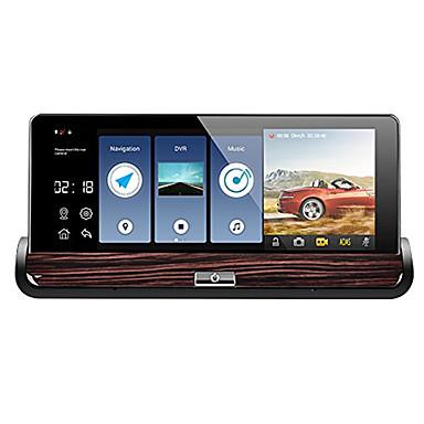 abordables DVR de Voiture-V40 1080p Vision nocturne / Lentille double DVR de voiture 140 Degrés Grand angle 7 pouce Dash Cam avec Wi-Fi / GPS / G-Sensor / ADAS