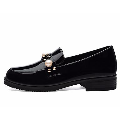 06664037 Bas et Chaussons Confort D6148 Vin Chaussures Mocassins Printemps Talon Femme Noir Polyuréthane Automne YvgOwqC