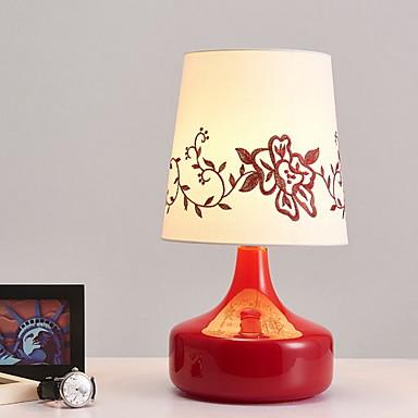 Artistic / Modern / Contemporan Decorativ Veioză Masă Pentru Interior Sticlă 220-240V Roșu-aprins / Mov