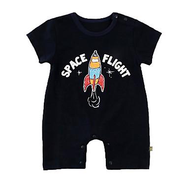 Bebelus Unisex Galaxie Mânecă scurtă O - piesă