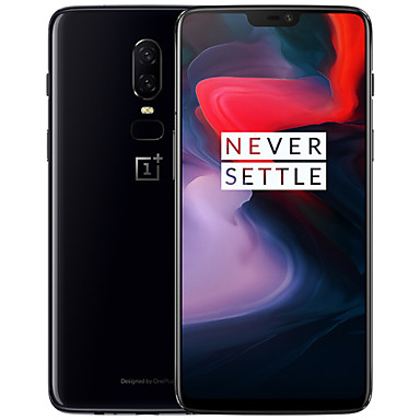 """cheap Special Deals-Clearance OnePlus 6 6.28 inch """" 4G Smartphone (8GB + 128GB 20+16 mp Snapdragon 845 3300 mAh mAh) / Dual Camera"""