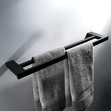 Barre porte serviette haute qualit moderne acier inoxydable 1pc salle de bain montage mural for Serviette de toilette haute qualite