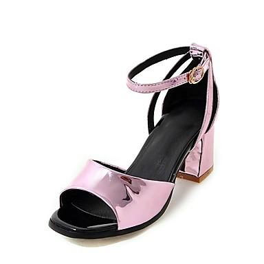 D'Orsay Sandales amp; Pièces 06698832 Soirée Bottier Eté Talon Deux Bout Chaussures Boucle Similicuir Evénement Femme Rose Argent ouvert amp; Or Tx0YtSRw