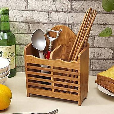 Organizacja kuchni Stojaki i uchwyty Bambus Łatwy w użyciu 1 szt.