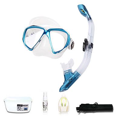 Kit para Snorkeling / Pacotes de Mergulho - Máscara de mergulho, Snorkel - Protecção Natação, Mergulho Fibra de Vidro, Neoprene  Para Adulto