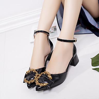 Talons Polyuréthane Deux Chaussures Kaki à Boucle Chaussures pointu amp; Bout Talon Rouge Marche 06752093 Noir Femme Eté D'Orsay Pièces Cubain Afzx4nq