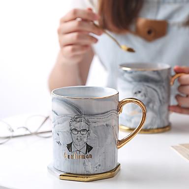 Drinkware Porţelan / China Ceaiuri & Răcoritoare cadou iubit / cadou prietena 2pcs