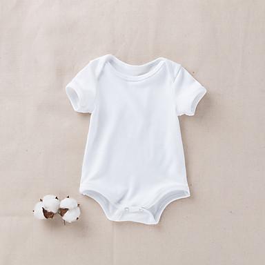 Bebelus Băieți Mată Mânecă scurtă bodysuit
