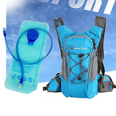 billige Sykkelvesker-10 L Vannsekker Pustende Regn-sikker Anvendelig Sykkelveske Nylon Sykkelveske Sykkelveske Vandring Sykkel
