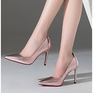 Nappa Printemps Femme Aiguille Chaussures Talons Noir Blanc 06766919 Cuir Rose Talon à Chaussures Confort rwtqtEz