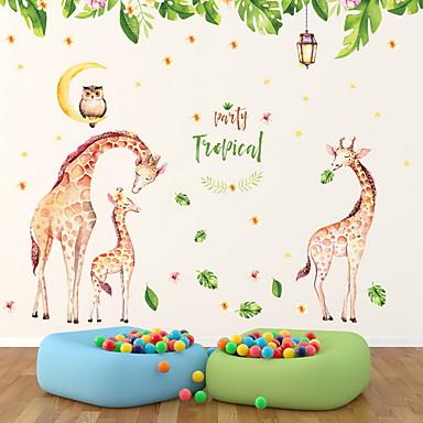 Autocolante de Perete Decorative - Animal Stickers de perete Animale Cameră Copii / Detașabil